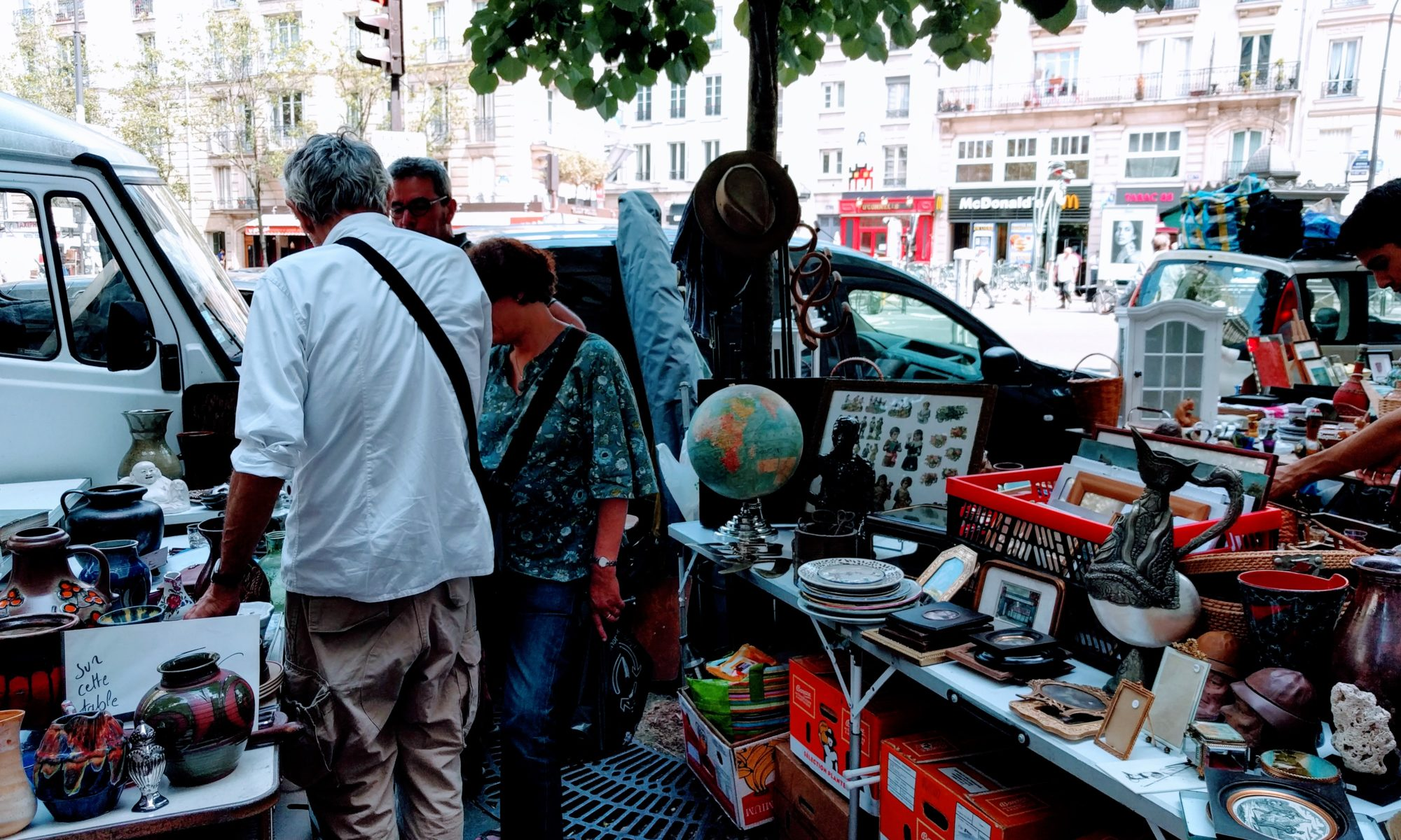Vide grenier in Paris